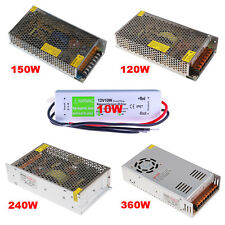 12V 10A 12.5A 20A 30A Power Supply Adapter Transformer For 3528 5050 LED Strip