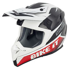 STEALTH CARBON FIBRE DOWNHILL CYCLE HELMET - MTB MOUNTAIN BIKE XC FREERIDE