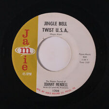 JOHNNY MENDELL: Jingle Bell Twist U.s.a. / A Real Old Fashioned 45 Oldies
