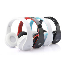 Wireless Headset Bluetooth Foldable Headset Stereo Headphone with Mic for iPhone