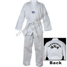 **Brand New Adult - WTF Taekwondo Dobok/Suit/Uniform, With Printed Back**