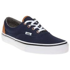 New Boys Vans Blue Era Canvas Trainers Lace Up