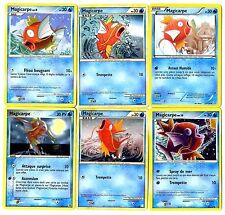 POKEMON lot de 6 Cartes POISSONS, MAGIKARP MAGICARPE etc... LMAGI6 A CHOIX