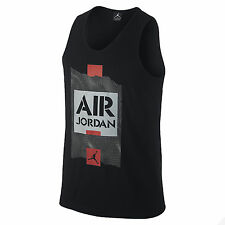 Jordan Men's Nike Air Jordan V Jumpman Tank Top-Black
