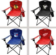 Choose Your NHL Team XL Big Boy Cooler Armrest Quad Folding Chair by Coleman