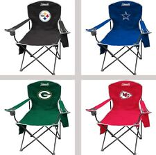 Choose Your NFL Team XL Big Boy Cooler Armrest Quad Folding Chair by Coleman