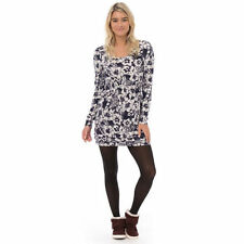 ANIMAL WOMENS TUNIC TOP.NEW FRECKLE BLUE JERSEY LONG SLEEVED DRESS 5W/361/H61