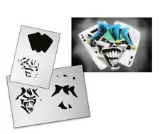 Step by Step Stencil AS-104 Joker ~ UMR Airbrush Schablone