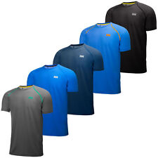 Helly Hansen 2015 Mens Pace Cool Lifa Flow SS T Shirt Gym Training Sports Tee