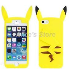 3D Cute Yellow Cartoon Animal Silicone Case Cover for Apple iphone 6 6plus 5S
