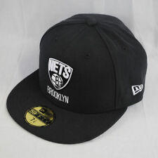 New Era 59Fifty Brooklyn Redes Ajustable Visera Plana Graphite NBA Gorra
