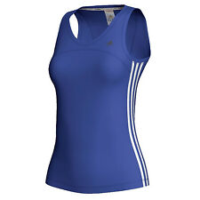 adidas Rendimiento Mujer Climacool CT Core Tanque Deportivo Chaleco Azul/Blanco