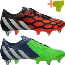 los angeles 17e54 f2ec9 ... france adidas predator instinct sg red green mens rugby soccer boots  shoes new 36ece bb8a1