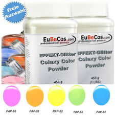 COLAXY Acryl Color Powder Polymers * Acryl Puder Pastell Farben Auswahl 453 g *