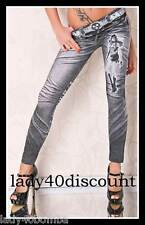 LEGGING LEGGINS SLIM FEMME STRETCH JEAN STRASS COLLANT CALECON SPANDEX NEUF