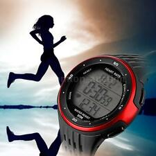 Fitness Sport Watch Pulse Heart Rate Monitor Calories Counter Alarm+Chest Strap