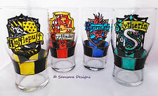 Hogwarts House Pint Glass Harry Potter Gryffindor Ravenclaw Hufflepuff Slytherin