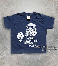 T-SHIRT kind STORMTROOPER YOUR EMPIRE NEEDS YOU - Star Wars Star Wars