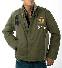 La Martina Polo Herren Jacke Official Supplier olive M-228