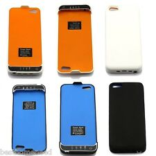 PORTABLE EXTERNAL PACK BACKUP BATTERY CHARGER 2200mAh CASE FOR iPhone 5 5S