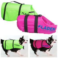 FLADEN DOG FLOTATION AIDS, LIFE VEST PRESERVERS, JACKETS ALL SIZES PINK & GREEN