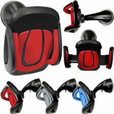 UNIVERSAL RED CAR MOUNT HEAVY DUTY 360° SUCTION  HOLDER FOR VARIOUS  PHONES