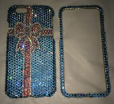 Crystal BLING Case For IPhone 4 5 6 6s 4.7 Plus 5.5 Made With SWAROVSKI Elements