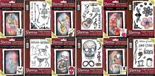 Sheena Douglass - PERFECT PARTNERS - DAY OF THE DEAD COLLECTION - Stamps, Dies