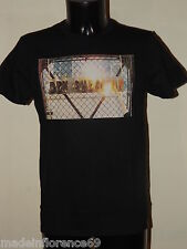 BEN SHERMAN T-SHIRT FIRE LOGO MB10472 BLACK Tg XS S M L XL XXL JERSEY NETWORK