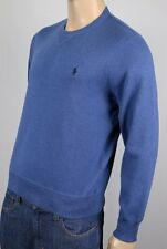 Polo Ralph Lauren Blue Crewneck Sweater Navy Blue Pony NWT