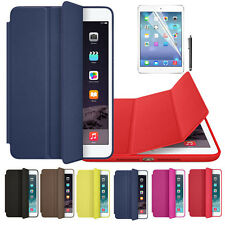 Per Apple iPad mini 1 2 3 Retina PU Smart Cover Con Custodia In Pelle+Pellicola
