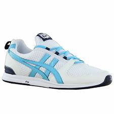Onitsuka Tiger Ult Racer White Blue Womens Trainers