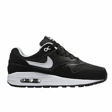 Nike Air Max 1 Black White Youths Trainers