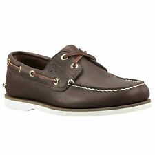Timberland Earthkeepers Classic 2 Eye Dark Brown Mens Boat Shoes
