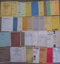 SHEET MUSIC & BOOKLETS FOR THE FLUTE, SOLO, DUET, TRIO & QUARTET ETC.