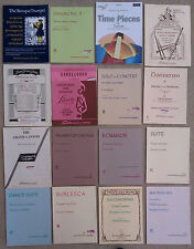 SHEET MUSIC & BOOKLETS FOR THE TRUMPET & CORNET & PIANO