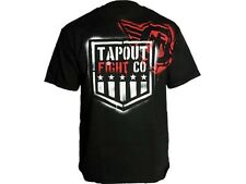 Tapout MMA T-Shirt, Branded, schwarz, Muay Thai, Shirt, Fightwear