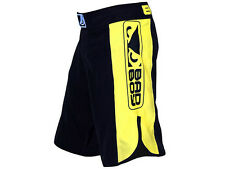 BAD BOY MMA Fightshorts, Strike, schwarz-gelb, Short, Hosen, Muay Thai Thaiboxen