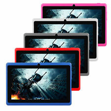 "7"" Quad Core A33 Android 4.4 Kitkat Tablet Dual Camera Play Store"