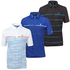 Island Green 2016 Mens IGTS1466 CoolPass Performance Tech Golf Polo Shirt