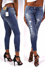 FORNARINA Jeans BAMBI UD 7/8 Jeans Aderente NUOVO - W29