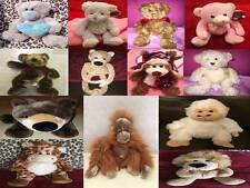Cuddles Time Cuddly Soft Toy Animals Bears Various