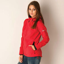 Berghaus Crags Giacca Softshell Donna (Rosso)