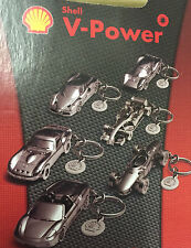 SHELL V-POWER FERRARI SPORTS CAR METAL KEYRING