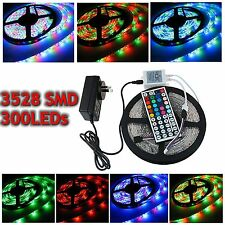 STRISCIA A LED SMD 3528 300LED 5/10/15 METRI STRIP LIGHT BOBINA STRISCIA LUCE