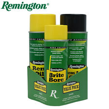 Remington 3 Step Value Pack Brite Bore Action Cleaner & REM Oil Cleaning