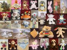 Mothercare Baby Comforter Rattle Chime Soft Toys