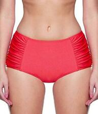 Lepel Holiday Sparkle Deep Bikini Brief Coral Red8-18 Womens