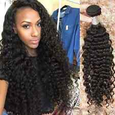 Virgin Brazilian Kinky Curly Hair Extensions 100% Unprocessed Remy Human Hair
