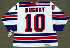 RON DUGUAY New York Rangers 1981 CCM Vintage Home NHL Hockey Jersey
